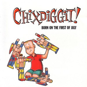 Born On The First Of July Albumcover