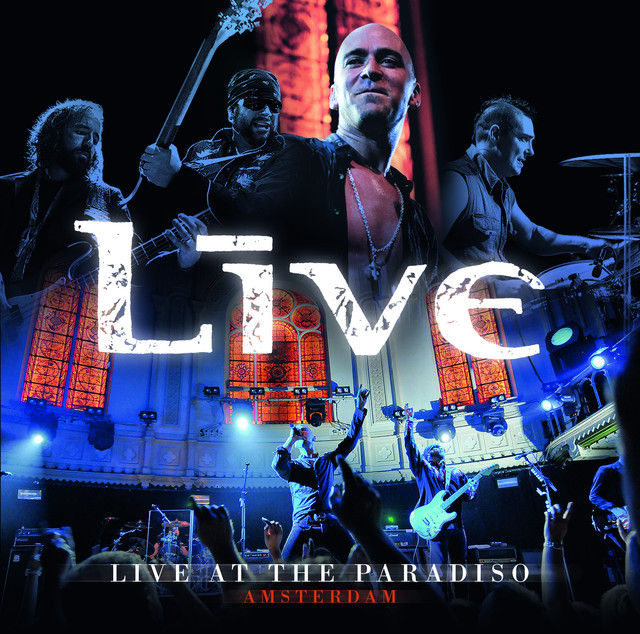 Live Live at the Paradiso album cover