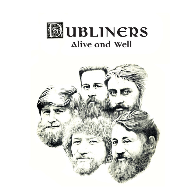 The Dubliners Alive and Well album cover
