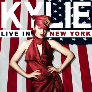 Kylie Live in New York Albumcover