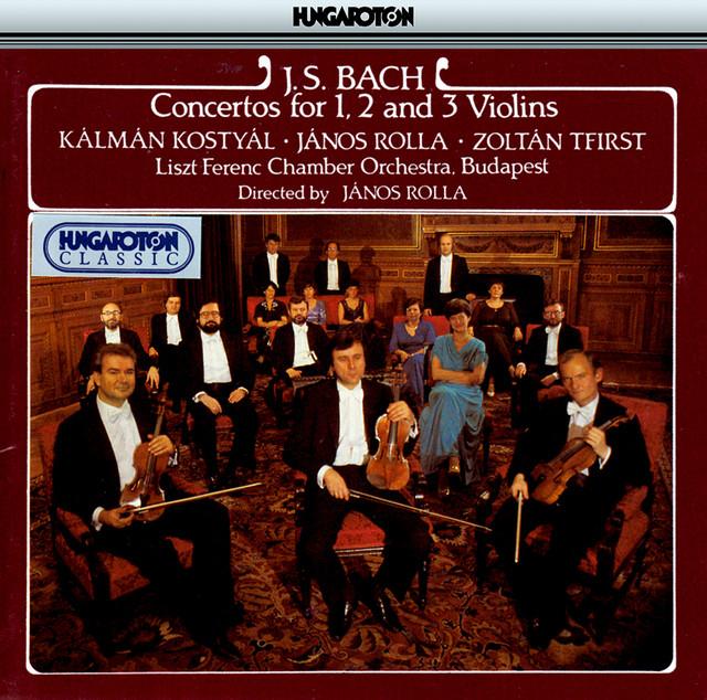 Bach, J.S.: Concertos for 1, 2 and 3 Violins Albumcover