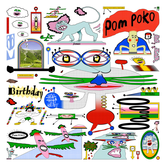 Album cover for Birthday by Pom Poko