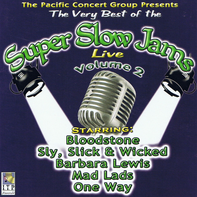 Various Artists Super Slow Jams Vol. 2 (Live) album cover