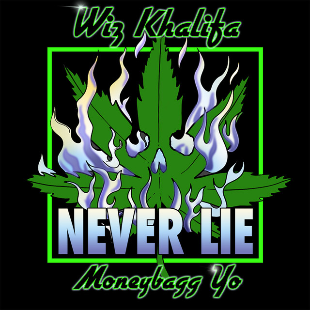 Wiz Khalifa - Never Lie (feat. Moneybagg Yo) cover