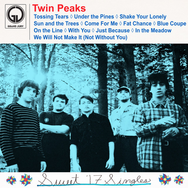 Album cover for Sweet '17 Singles by Twin Peaks