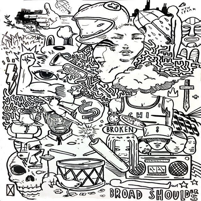 Album cover for Broad Shoulders by Taylor Bennett