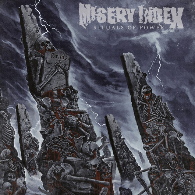 Album cover for Rituals of Power by Misery Index