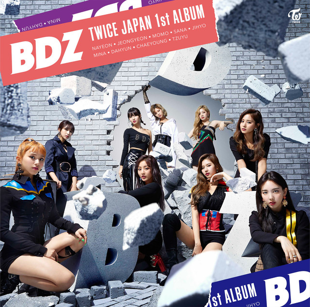 Album cover for BDZ by TWICE