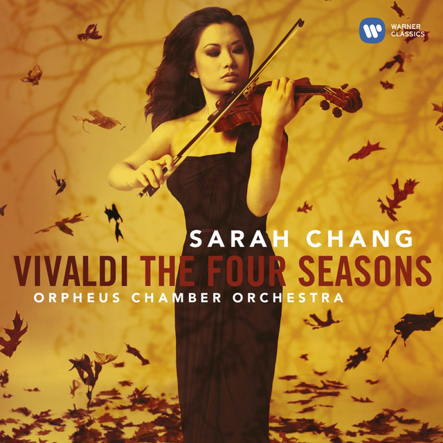 Vivaldi: The Four Seasons. Albumcover