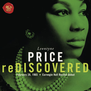 Leontyne Price - Carnegie Hall Recital Debut