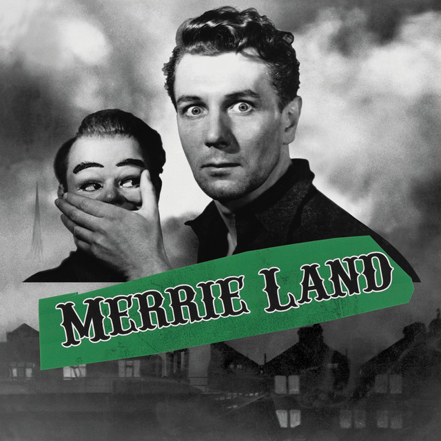 Album cover for Merrie Land by The Good, the Bad & the Queen