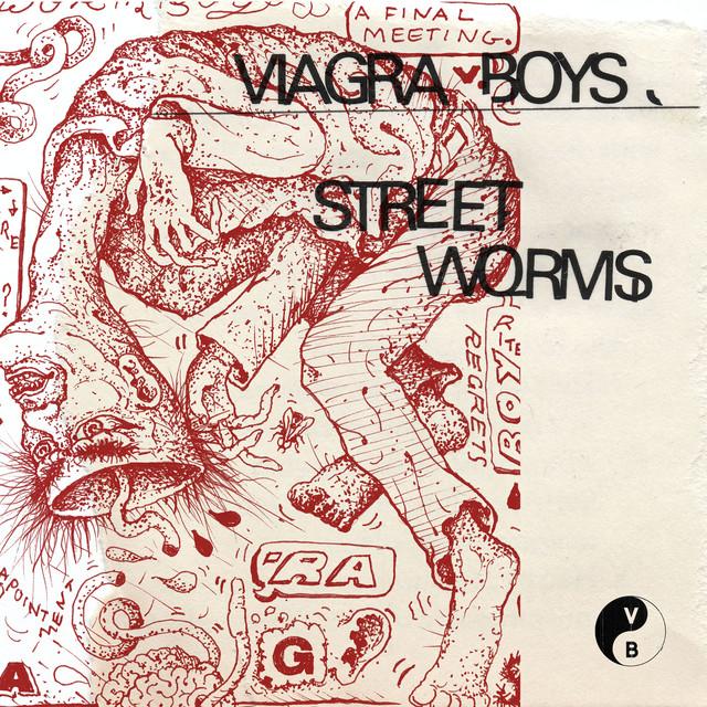 Skivomslag för Viagra Boys: Street Worms