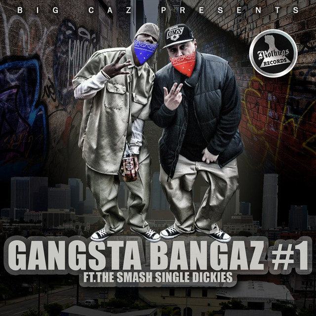 Various Artists Big Caz Presents: Gangsta Bangaz #1 album cover