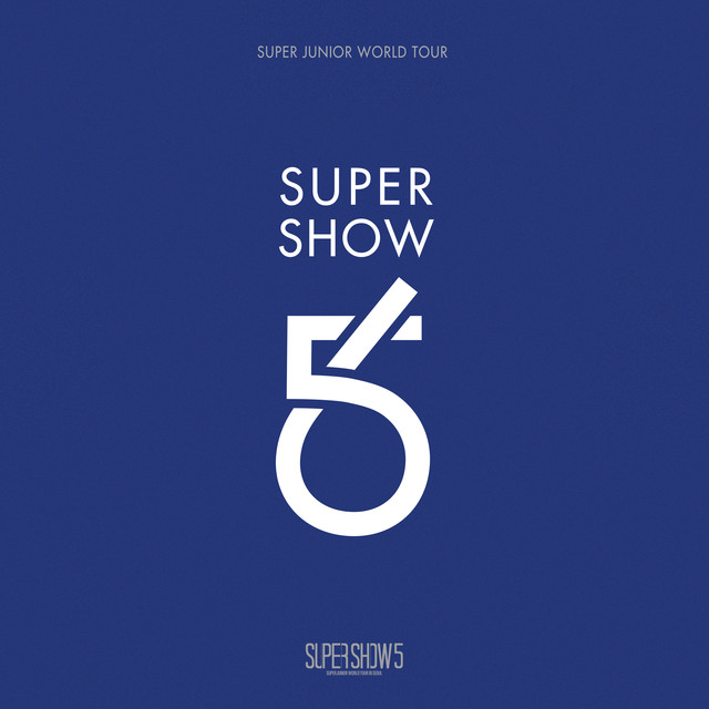 SUPER SHOW 5 - SUPER JUNIOR The 5th WORLD TOUR (Live) Albumcover