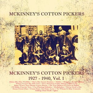 McKinney's Cotton Pickers 1927 - 1940, Vol. 1 album