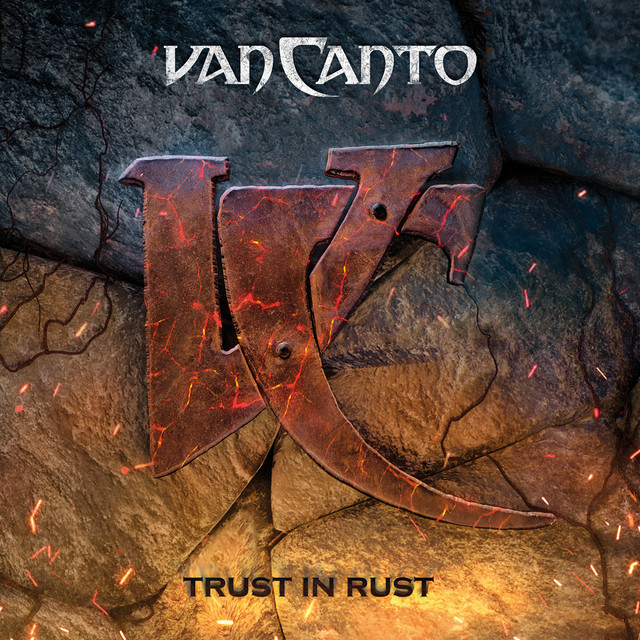Album cover for Trust in Rust by Van Canto