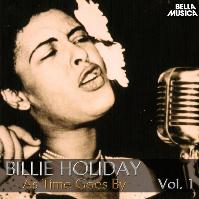 Billie Holiday As Time Goes By album cover