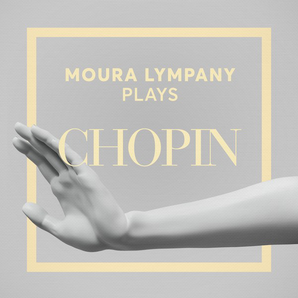 Album cover for Moura Lympany Plays Chopin by Frédéric Chopin, Moura Lympany
