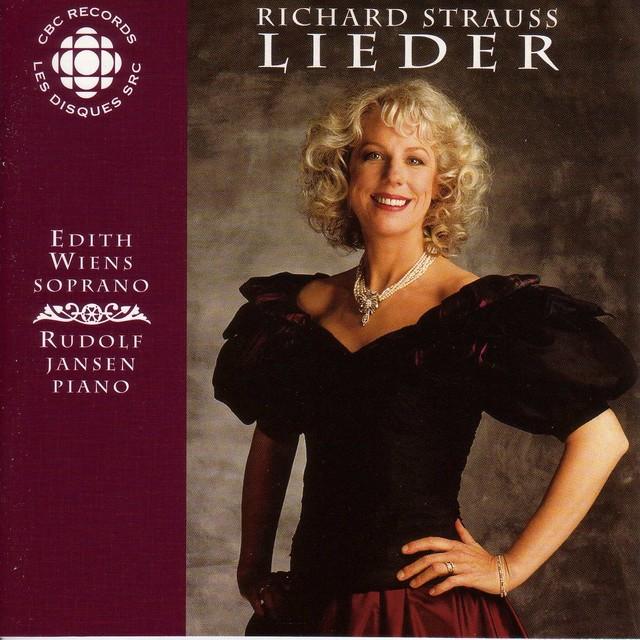 Strauss, R.: Lieder Albumcover