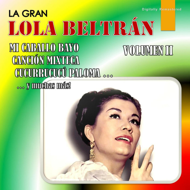 Album cover for La Gran Lola Beltrán, Vol. 2 by Lola Beltrán
