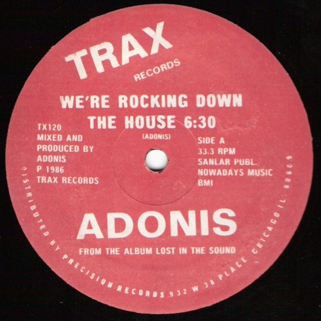 Artwork for We're Rocking Down the House - Down Break by Adonis