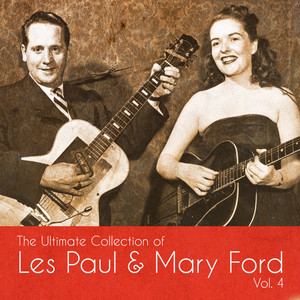 Les Paul & Mary Ford Blue Skies cover