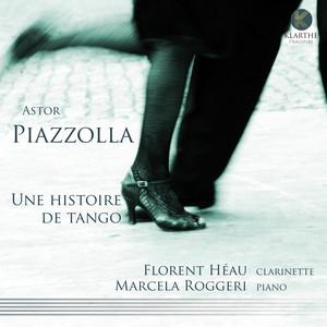 Astor Piazzolla, Florent Héau, Marcela Roggeri Oblivion cover