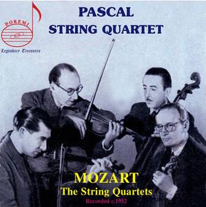 Pascal String Quartets, Vol. 1: Mozart's String Quartets Albümü