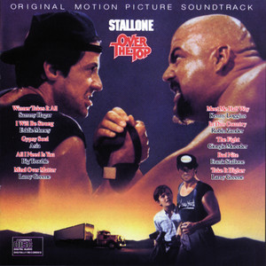 Original Motion Picture Soundtrack OVER THE TOP Albumcover