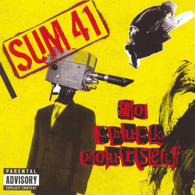 Sum 41 Go Chuck Yourself album cover