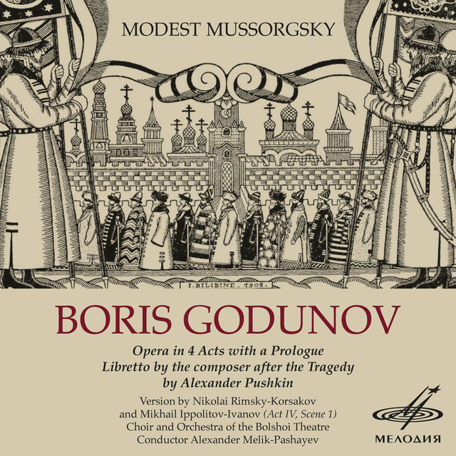 Mussorgsky: Boris Godunov Albumcover