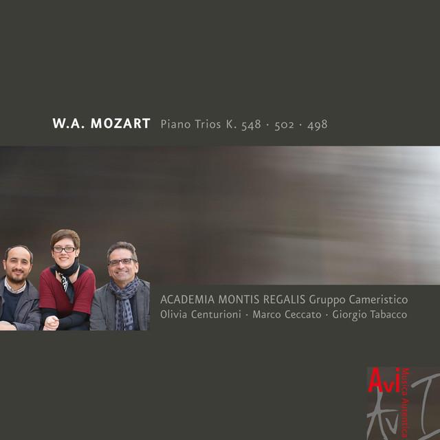 W.A. Mozart: Piano Trios, K. 548 & 502 & 496 Albumcover