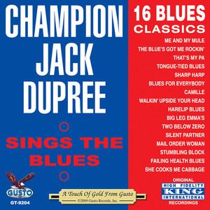 Sings The Blues - 16 Blues Classics album