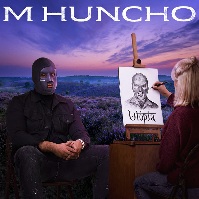 Album cover for Utopia by M Huncho