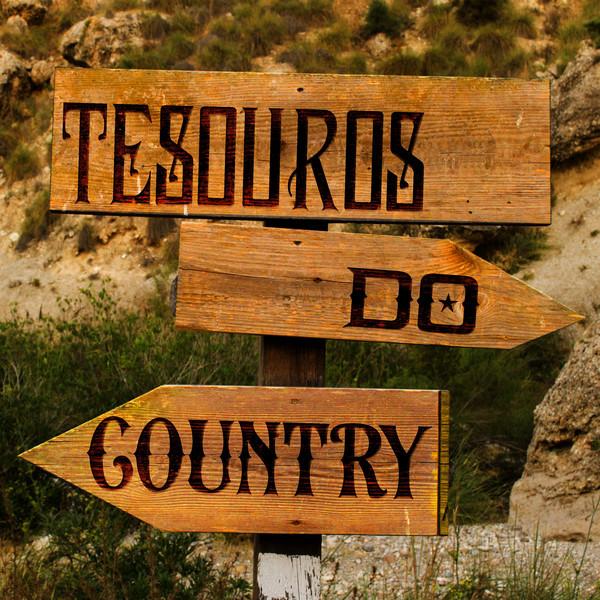 Various Artists Tesouros do Country album cover