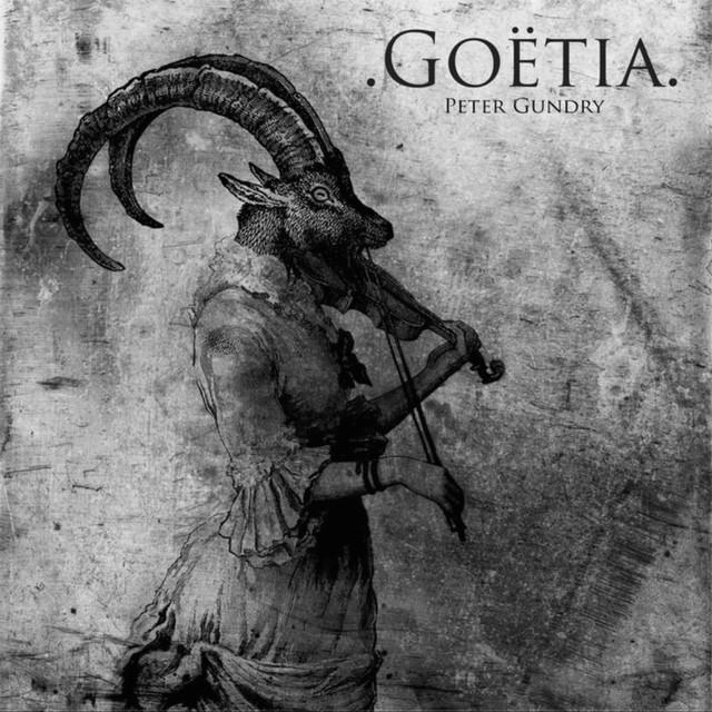 Album cover for Goëtia by Peter Gundry