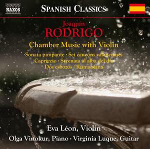 Rodrigo: Chamber Music with Violin album