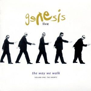 Live - The Way We Walk Volume One: 'The Shorts' Albumcover