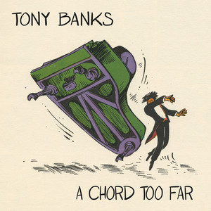 Tony Banks Red Day on Blue Street cover