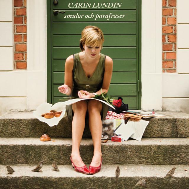 Skivomslag för Carin Lundin: Smulor Och Parafraser