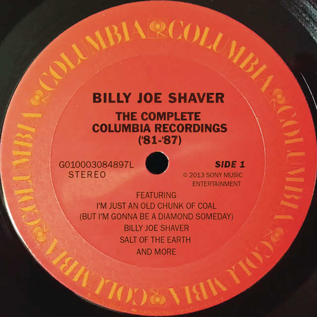 Billy Joe Shaver The Complete Columbia Recordings album cover
