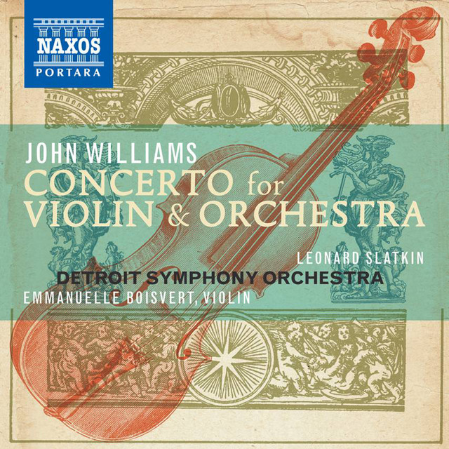John Williams Composer: Concerto for Violin and Orchestra Albumcover