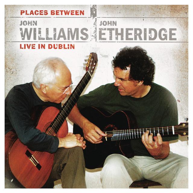 John Williams John Williams & John Etheridge: Places Between album cover
