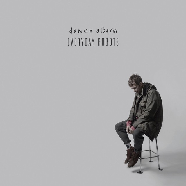 Album cover for Everyday Robots by Damon Albarn