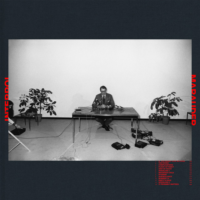 Album cover for Marauder by Interpol