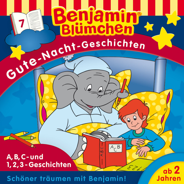 Gute-Nacht-Geschichten - Folge 7: A,B,C-Geschichten  -  1,2,3-Geschichten Cover