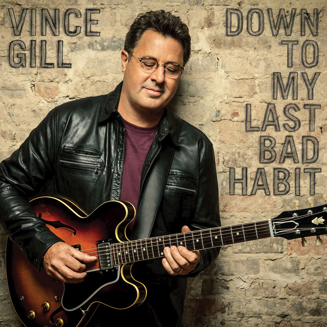 Album cover for Down To My Last Bad Habit by Vince Gill