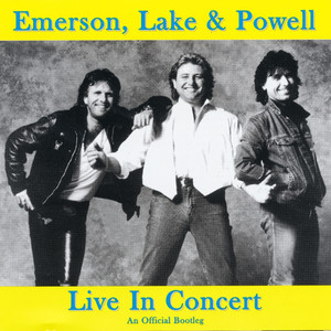 Keith Emerson, Emerson, Lake & Powell, Greg Lake, Cozy Powell From the Beginning cover