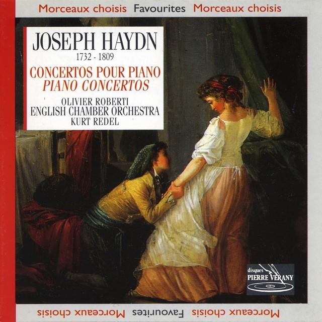 Haydn : Concertos pour piano Albumcover