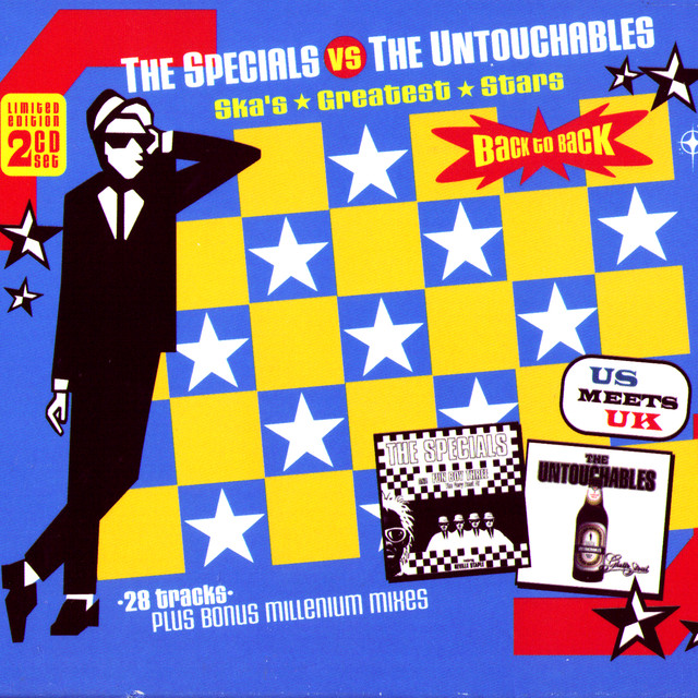 Various Artists The Specials vs. the Untouchables - Ska's Greatest Stars Back to Back album cover
